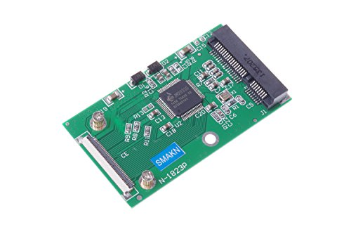 SMAKN Mini mSATA PCI-E SSD to 40pin ZIF CE Cable Adapter Card (Ssd For Ipod Classic)