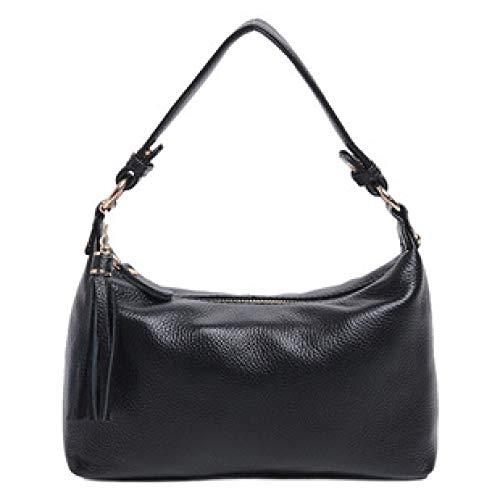 Sacs Main à à Femmes Cuir Casual Sac Fashion Black Bandoulière Sacs Pour Décontractés Top Petit Carré En Handle Large w6qw51