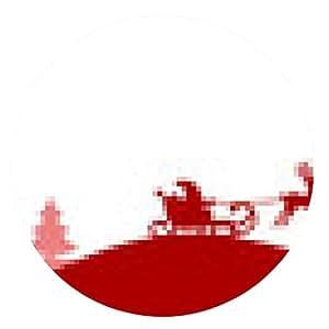 alfombrilla de ratón Silueta de la Navidad Elche - ronda - 20cm