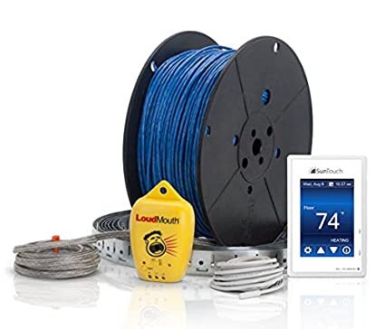41y57VLxFIL._SX425_ suntouch warmwire (120v) floor heat kit, 70 sq ft cable adaptable to
