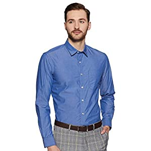 Bradstreet by Arrow Men's Plain Slim Fit Formal Shirt