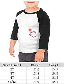 yimo Science is Cool Unisex Toddler Baseball Jersey Contrast 3//4 Sleeves Tee