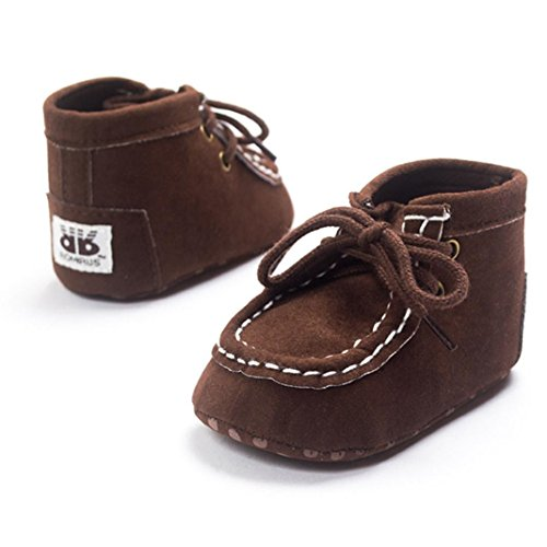 UPC 646263571279, Baby High Help Bandage Shoes,Ecosin® Baby Crib Toddler Sneakers Casual Non-slip Shoes (0-6month, Coffee)