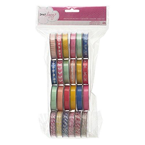American Crafts Dear Lizzy Daydreamer Premium Ribbon, - Crafts Cloth American