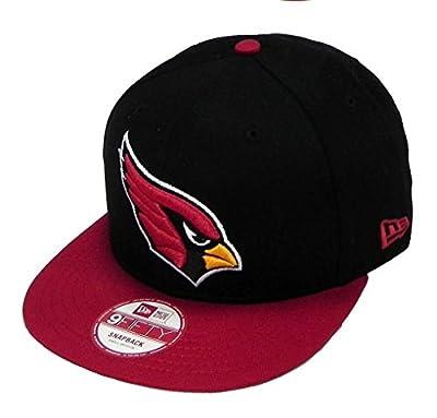 New Era 9Fifty Baycik Snapback (M/L, Arizona Cardinals, Black)