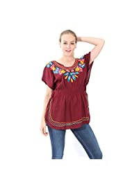 Village Venture- Blusa Casual Bordada 20196K