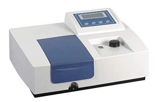 752N 4nm UV-VIS Spectrophotometer 200nm-1000nm Ultraviolet Visible Spectrophotometer with Software by YUCHENG TECH