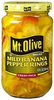 product image for Mt. Olive Mild Banana Pepper Rings - 12 Oz Jar (Pack of 3)