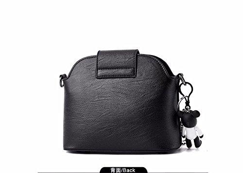 Mujer Bolso de y Hombro Solo Femenina Mini Fresco Bolsa Slant Gules Black de Moda Small De GQFGYYL xwCY8HqB