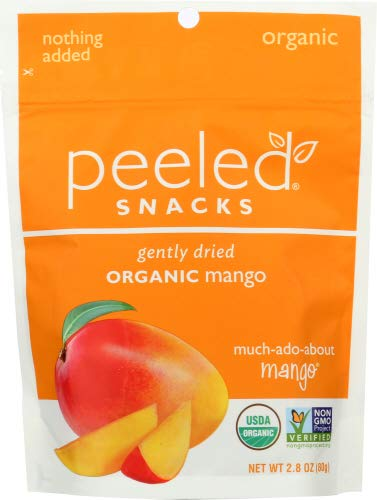 Peeled Snacks Organic much ado about Mango -- 2.8 oz ( pack of 6)