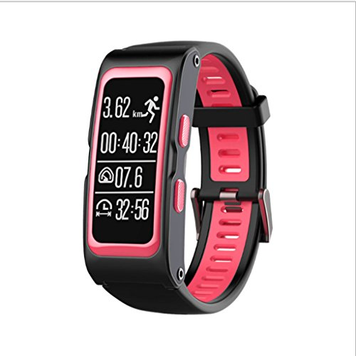 025 KTYX Fashion Intelligent Sports Bracelet Altitude Measuring Instrument Smart Watch (Color : Red)