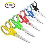 """Best Scissors - Scissors, Taotree 8"""" Multipurpose Scissors Bulk Value Pack Review"""
