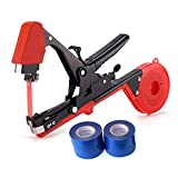 JOYOOO 2018 Newest vineyard tool Garden Vine Tying Tape Plant Tying Machine Agriculture Tapener Hand Tying Machine fix the vine plant such as tomato, cucumber, ect 10 rolls tape+1 staples +Tying Tool