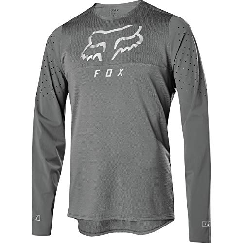 Fox Racing Flexair Delta Long-Sleeve Jersey - Men's Grey Vintage, M ()