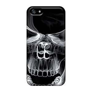 CTo1776bPYA Cases Covers Protector For Iphone 5/5s 3d Skull Cases
