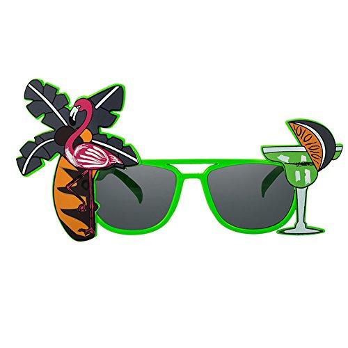 de pers Funny Divertidas Creativo Gafas Vacaciones Verano de Tema Gafas Flamenco de apoyos Sol de Rotyr nbsp;onality Regalo Fiesta Baile BBzRrx