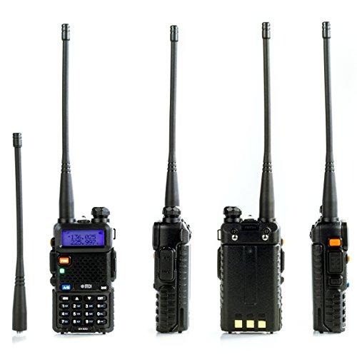 BTECH UV 5X3 5 Watt Tri Band Radio: 130 179.99mhz (VHF), 220 225.99mhz (1.25M), 400 520.99mhz (UHF) Amateur (Ham)