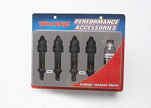 Traxxas 5460X Shocks - Teflon-Coated Bodies With TiN Shafts