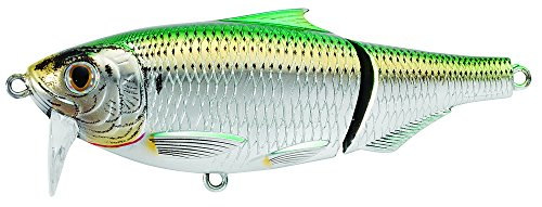 Koppers Sardine Scaled Salt Water Wakebait, Silver/Green, 3-1/2-Inch, 3/4-Ounce