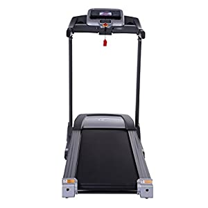EFITMENT Auto Incline Bluetooth Motorized Treadmill w/Speakers & Folding for Running & Walking - T012 by EFITMENT