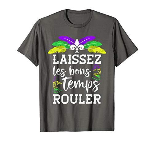 (Mardi Gras T-Shirt Laissez Les Bons Temps Rouler)