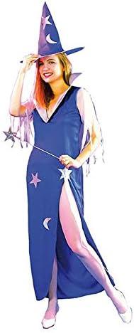 El Carnaval Disfraz Maga Mujer Adulto: Amazon.es: Juguetes y juegos