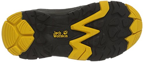 Pictures of Jack Wolfskin Unisex MTN Attack 2 Texapore Low K Hiking Boot, Burly Yellow, 5 M US Big Kid 6