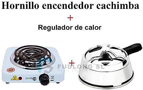 Kertou Cocina El/éctrica para Shisha CACHIMBA Carb/ón HORNILLO 600W Hot Plate Electric Cooking