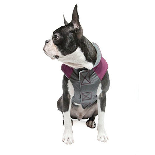 Gooby Active Trekking Dog Jacket, X-Small, Lavender Purple