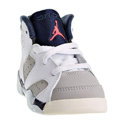 Nike Toddler Jordan 6 Retro Tinker White/Infrared 23-Neutral Grey 5.0
