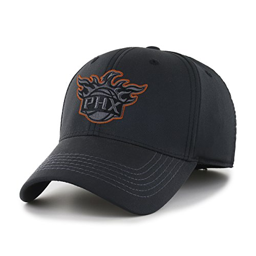 fan products of NBA Phoenix Suns Wilder OTS Center Stretch Fit Hat, Black, Large/X-Large