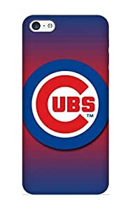 Honeyhoney Rugged Skin Case Cover For Iphone 6 plus (5.5)- Eco-friendly Packaging(chicago Cubs)