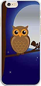 Iphone 6 Case owl,A owl and moonlight for Iphone 6 case in FAQA
