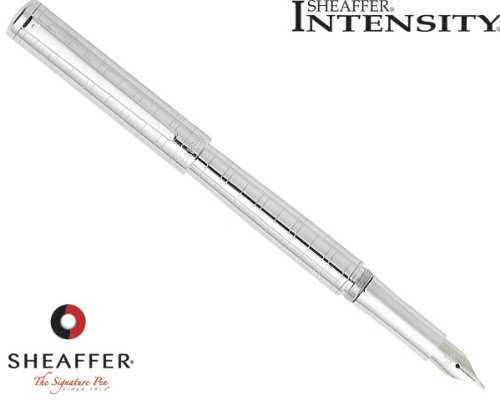 sheaffer-intensity-medici-engraved-chrome-plate-trim-fountain-pen-fine-nib-e0923743