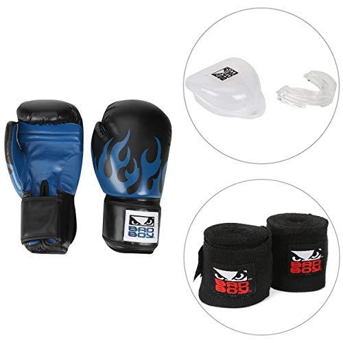 7efdcf898 -26% Kit Luva de Boxe Muay Thai Bad Boy 16 Oz + Bandagem Elástica.