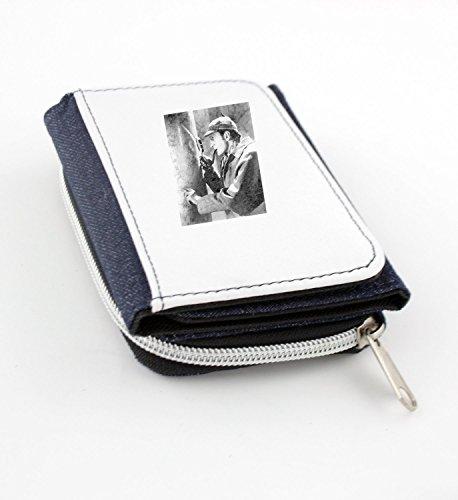 Wallet with Basil Rathbone as Sherlock Holmes.