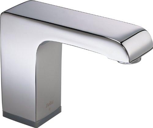 Electronic Single Hole Faucet - Delta Faucet 601T050 Battery Operated Electronics Single Hole Faucet with Proximity Sensing Technology, Chrome