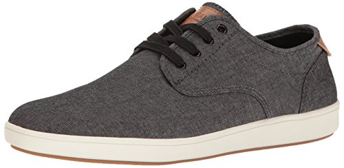 Steve Madden Men's Fenta Fashion Sneaker, Black Fabric, 10.5 M US