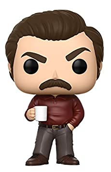 Funko Pop Television: Parks and Recreation - Ron Swanson Figure Funko Pop! Television: 13036 Accessory Toys & Games