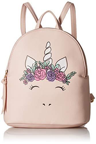 (T-Shirt & Jeans Womens Flower Crown Unicorn Backpack,)