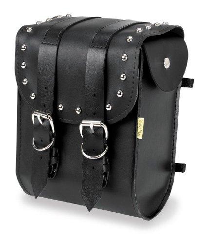 Motorcycle Sissy Bar Bag - Willie & Max Ranger Studded Sissy Bar Bag SBB452
