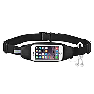Avantree Touch Screen Running Belt for iPhone 6S Plus / 6 Plus, Samsung Galaxy Note 5 4 3 S6 edge+ Nexus 6P Android Smartphones Waist Bag Pack - Wallaroo
