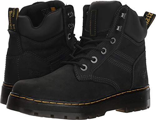 (Dr. Martens Men's Gabion Boot, Black, 9 Regular UK (10 US) )