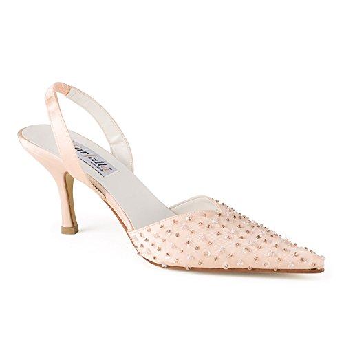 FARFALLA - Zapatos con correa de tobillo mujer Dorado - rosa