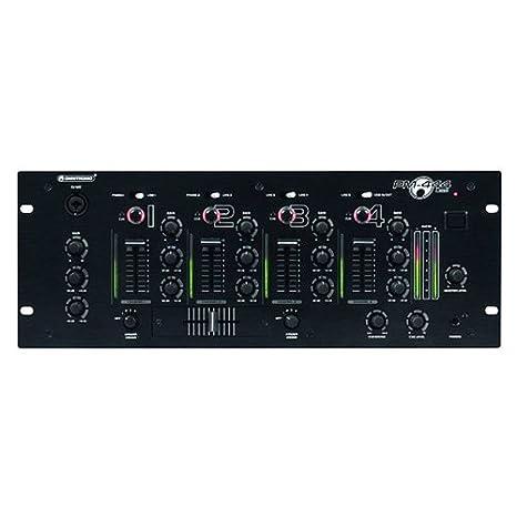 PM-444USB 4 canales mezclador para DJ: Amazon.es: Instrumentos ...