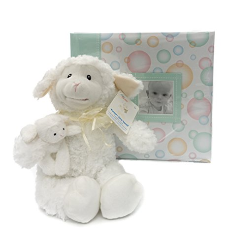 [MBI 12 X 12 inch scrapbook and Toy | Scrapbook and Animated Nursery Time Lamb Gift Combo | Animated Nursery Time Lamb Plush 10