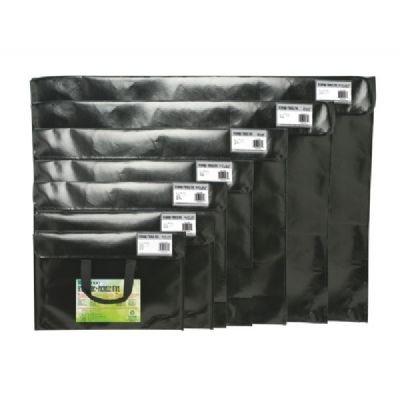 Itoya Profolio Art Envelope Pro, Weather-Resistant with Nylon Handles, 24.5 X 36.5 inches, Gloss Black (NV-24-36BK)