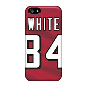 Great Hard Phone Cover For iphone 4s (pXX4309fDUw) Unique Design HD Atlanta Falcons Series