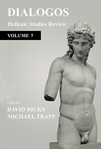 Dialogos: Hellenic Studies Review (v. 7)
