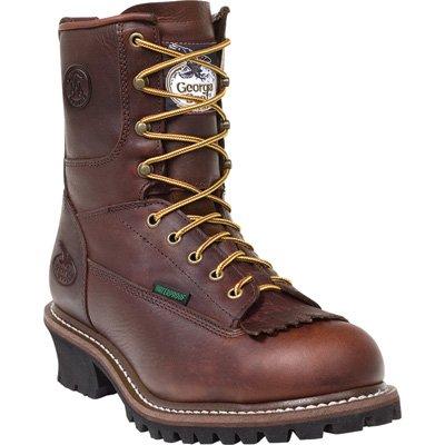 Boots Work Brown Men's Brown Logger 13W Waterproof Brown Georgia G7113 TqAIXwX
